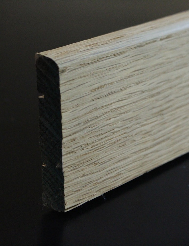 plinthe parquet chene massif 12 x 68 mm