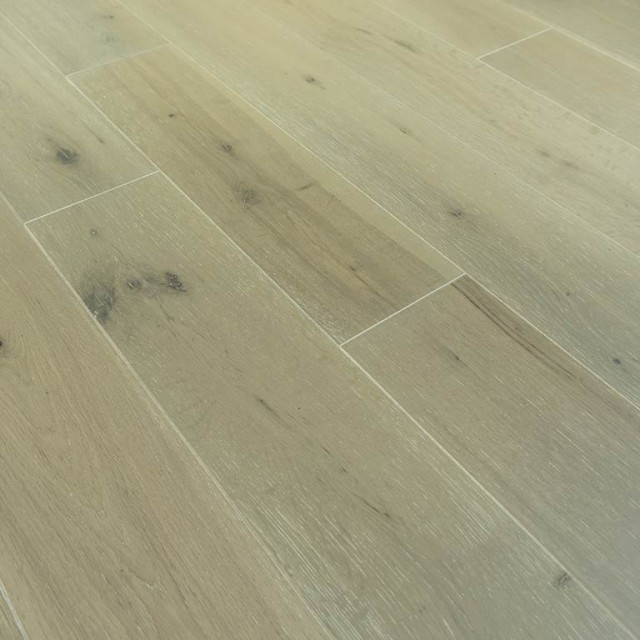 [Echantillon] Parquet chêne massif flottant - Marécage 18 x 160 mm