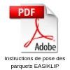 instructions de pose