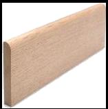 Plinthes en bois